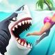 성난 상어 공격