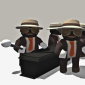 Coffin dance: the coffin meme 3d game.
