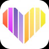 러브톡 - 가까운 친구만들기 영상채팅 화상채팅앱 만남 채팅 랜덤채팅 대표 아이콘 :: 게볼루션