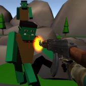 Ragdoll Monster Shooter - Ragdoll physics game