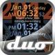 세계 시계 라이브 Duo