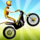 Moto Race -- physical motorcycle dirt racing game