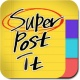 슈퍼포스트잇 - 간단한 메모 메모장 메모위젯 포스트잇