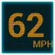 GPS LED 속도계