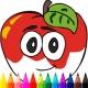 Kids Color Fruits