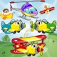 아이들을위한 비행기 게임 비행기입니다 비행 항공기