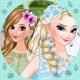 Elsa Bride Dress up