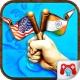 교육 게임 나라 국기