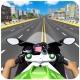 고속도로 오토바이 라이더